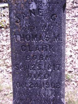 Jane Glenn <i>Wilson</i> Clark
