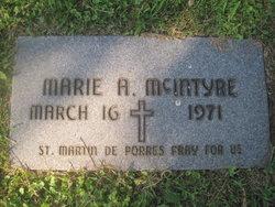 Marie A. McIntyre