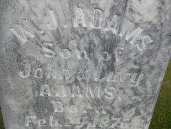 W. J. Adams
