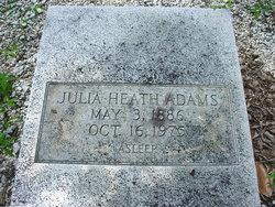 Julia <i>Heath</i> Adams