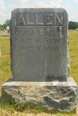 Clara Lois <i>Hough</i> Allen