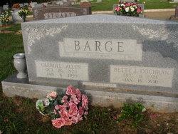 Betty J. <i>Cochran</i> Barge