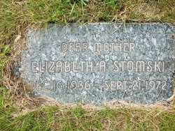 Elizabeth A. Betty Stomski