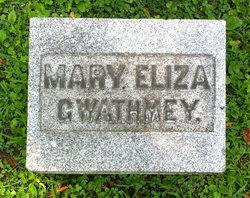 Mary Eliza Gwathmey