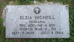 PFC Elzia Highfill