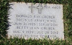 Donald Ray Gruber