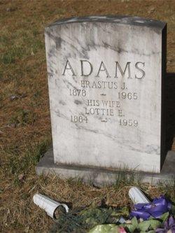 Lottie E. <i>Cole</i> Adams