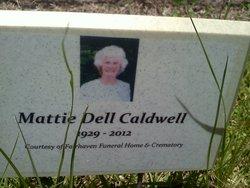 Mattie Dell <i>Saturday</i> Caldwell