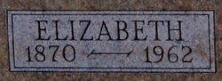 Elizabeth <i>Schwindt Kildow</i> Ackerman