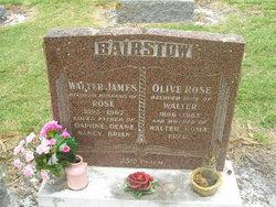 Olive Rose <i>Basham</i> Bairstow