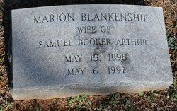 Marion <i>Blankenship</i> Arthur