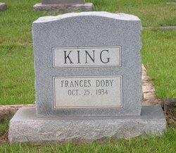 Frances Doby King