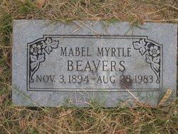 Mabel Myrtle Beavers