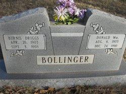 Burnis Driggs Bollinger