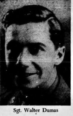 Sgt Walter Dumas