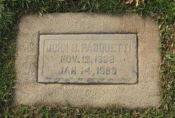 John B Pasquetti