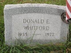 Donald E. Whitford