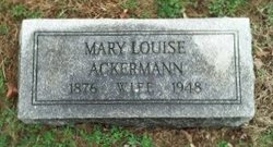 Mary Louise Ackermann