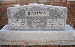 Beatrice May <i>Dittemore</i> Brown