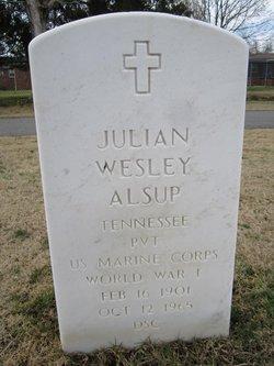 Julian Wesley Alsup