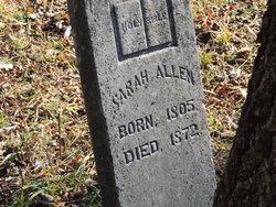 Sarah <i>Dale</i> Allen