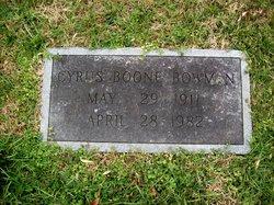 Cyress Boone Bowman