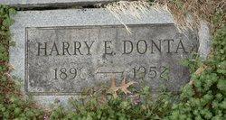 Harry E Donta