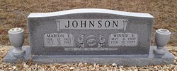 Rev Marion E. Johnson