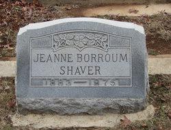 Mona Jeanne <i>Borroum</i> Shaver