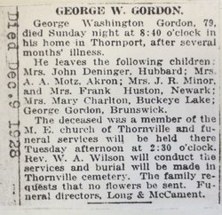 George Washington Gordon