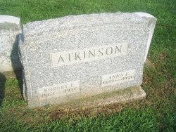 Anna E <i>Rogers</i> Atkinson