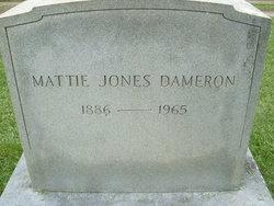 Mattie <i>Jones</i> Dameron