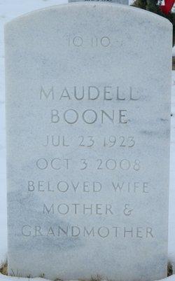 Maudell <i>Wansley</i> Boone