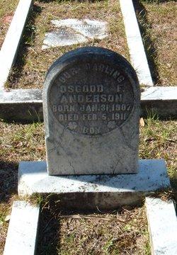 Osgood F Anderson
