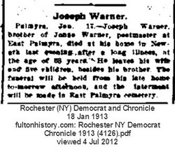 Joseph R. Warner