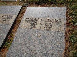 Beulah Lee <i>Corder</i> Brooks