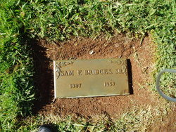 Samuel Franklin Sam Bridges, Sr