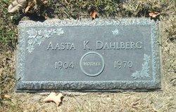 Aasta Kanutte <i>Fredericksen</i> Dahlberg