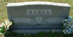 France Mae <i>Purvis</i> Hanna