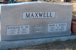 Raymond Riley Maxwell, Sr