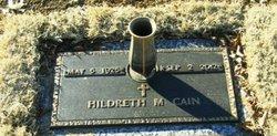 Hildreth M Cain