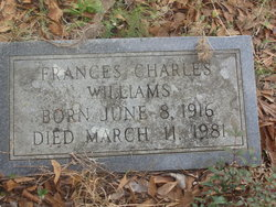 Frances <i>Charles</i> Williams