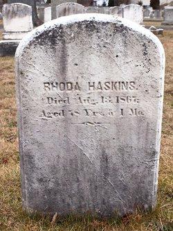Rhoda Westgate Haskins