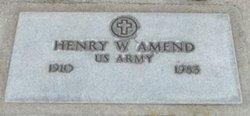 Henry William Amend