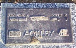 Rev Jesse H Ackley, Sr