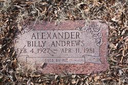 Billy Andrews Alexander