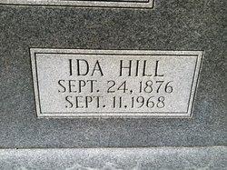 Ida <i>Hill</i> Mathis