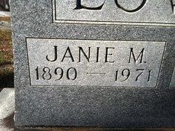 Janie M. Lowry