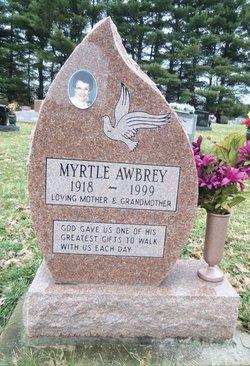 Myrtle L <i>Lawson</i> Awbrey