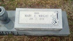 Mary F <i>Wright</i> Bemont